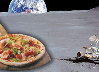Японцы собираются открыть пиццерию на Луне!